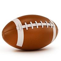 Надувной рэгби мяч