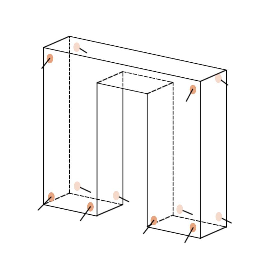 Укрытие для пейнтбола Дверь матрасного типа