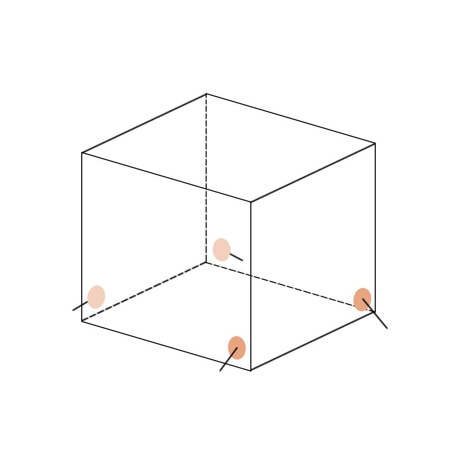 Укрытие для пейнтбола Куб