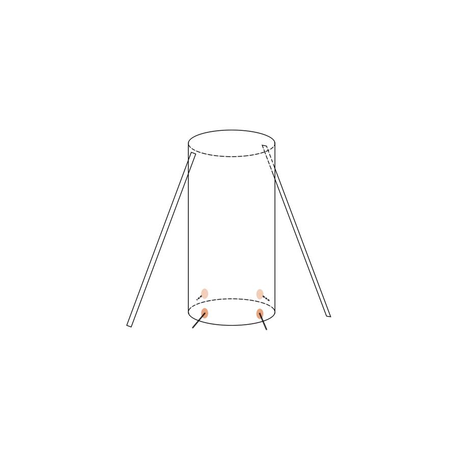 Укрытие для пейнтбола Медуза малая