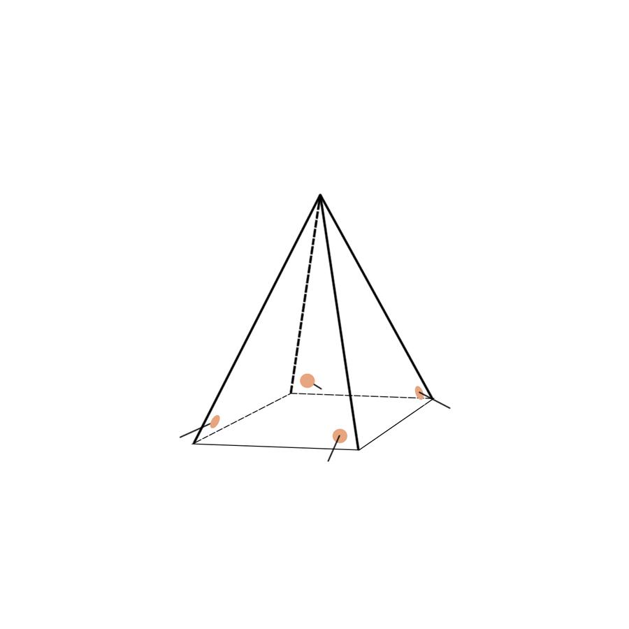 Укрытие для пейнтбола Пирамида