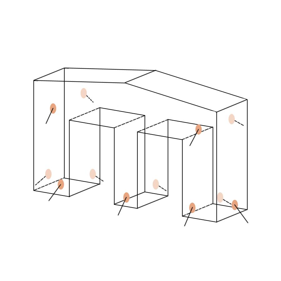Укрытие для пейнтбола Ворота большие