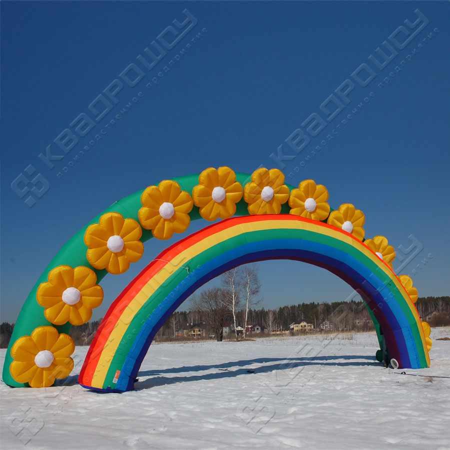Надувные арки цветы