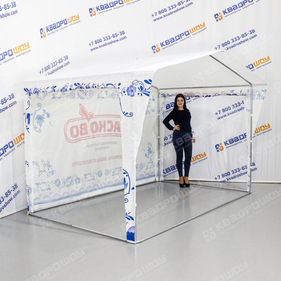 Торговая палатка с подъемными стенками