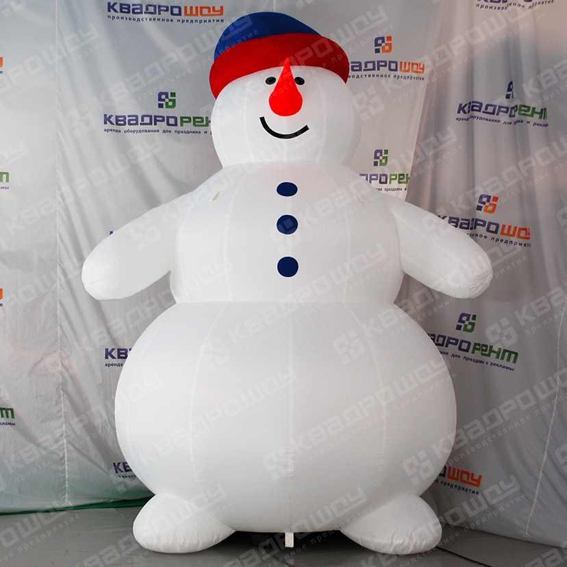 Надувная фигура Снеговик Толстяк
