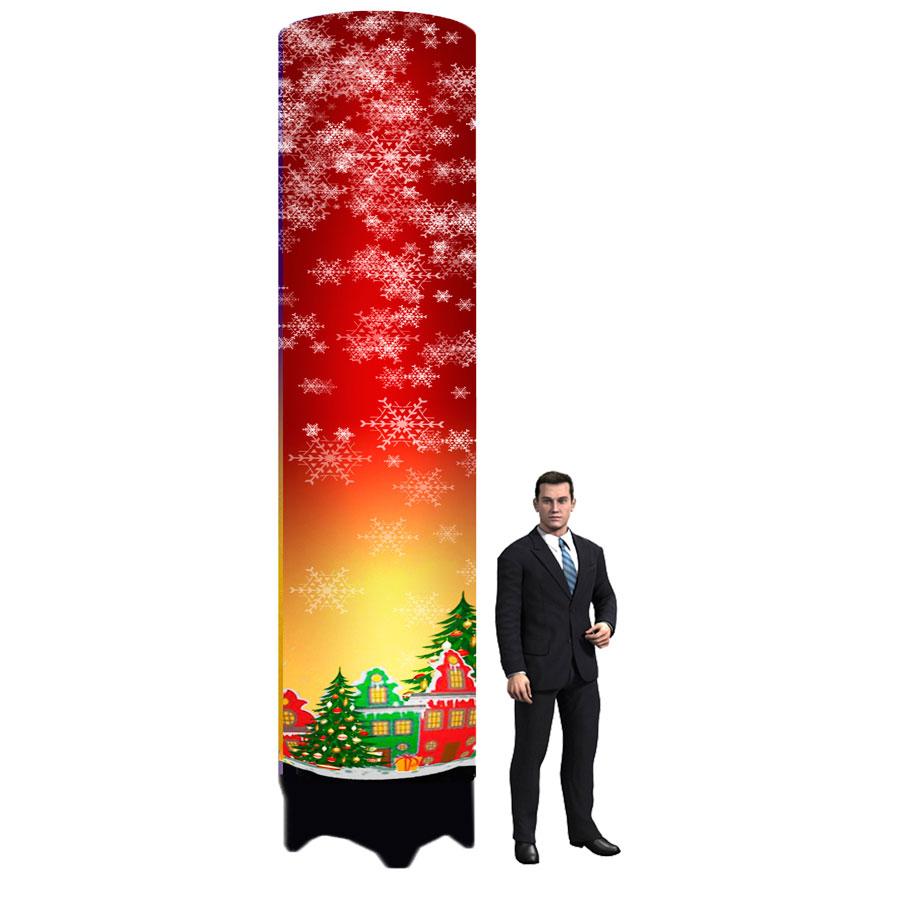 Колонна для оформления новогодних праздников