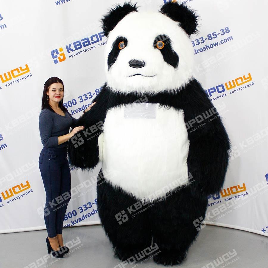 Костюм Панда с длинным мехом