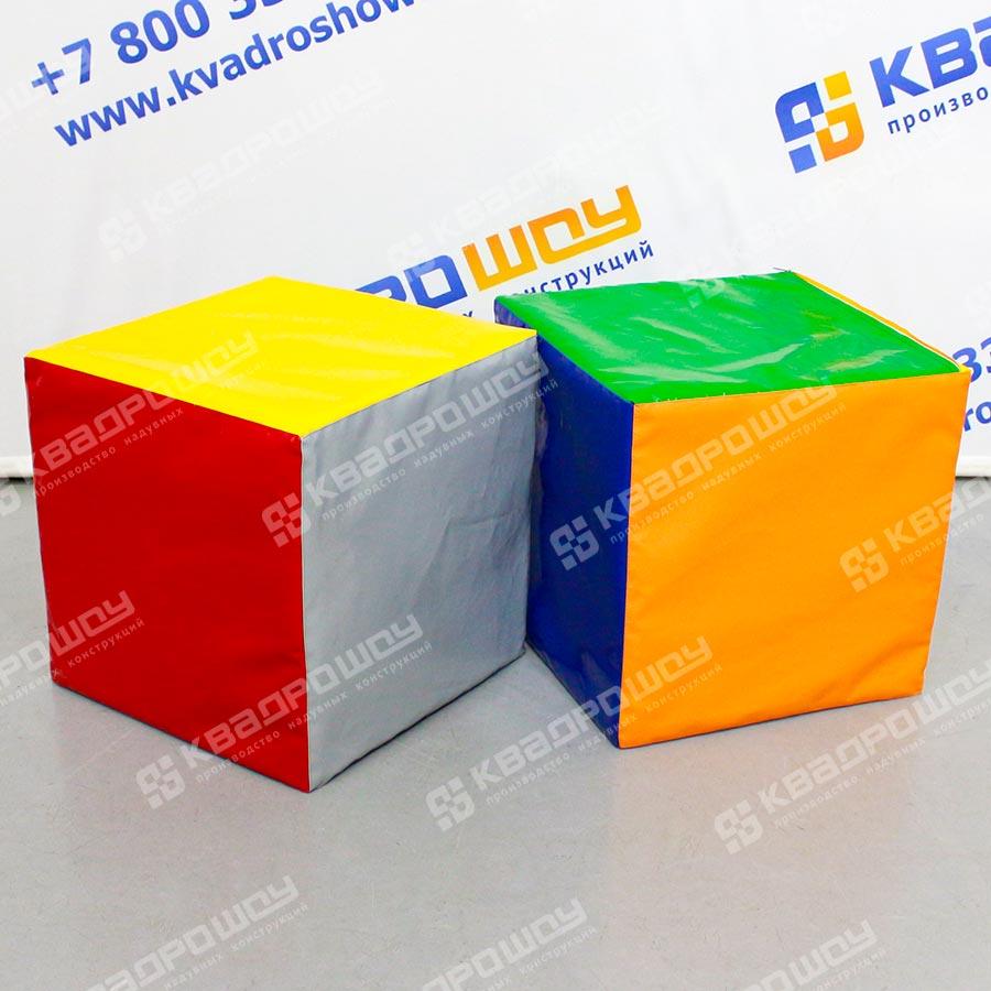 Кубики с разноцветными гранями