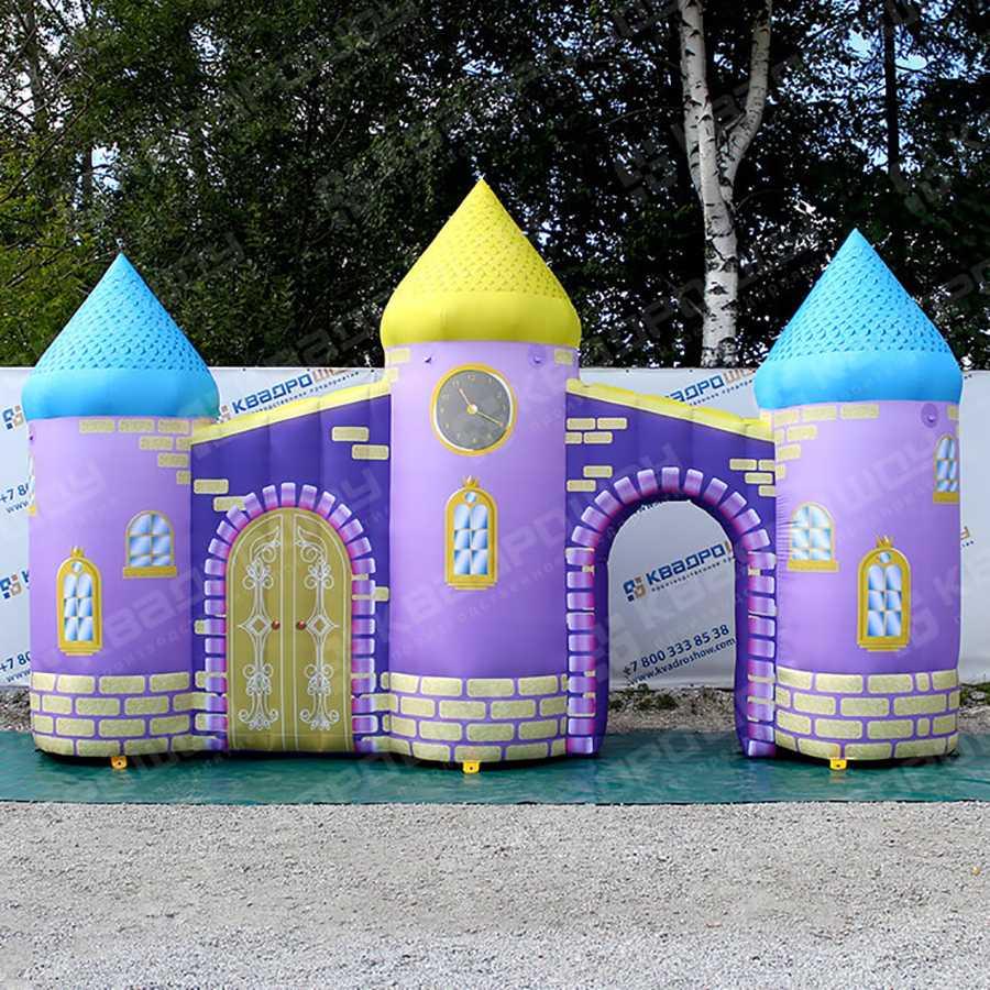 Надувная арка сказочный замок