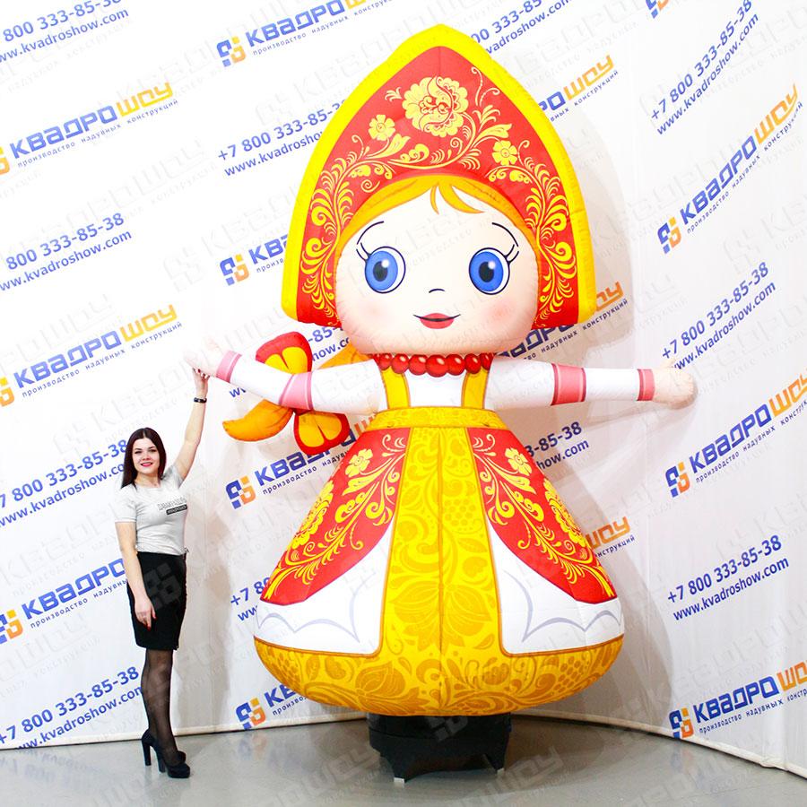 Надувная Девочка в русском сарафане