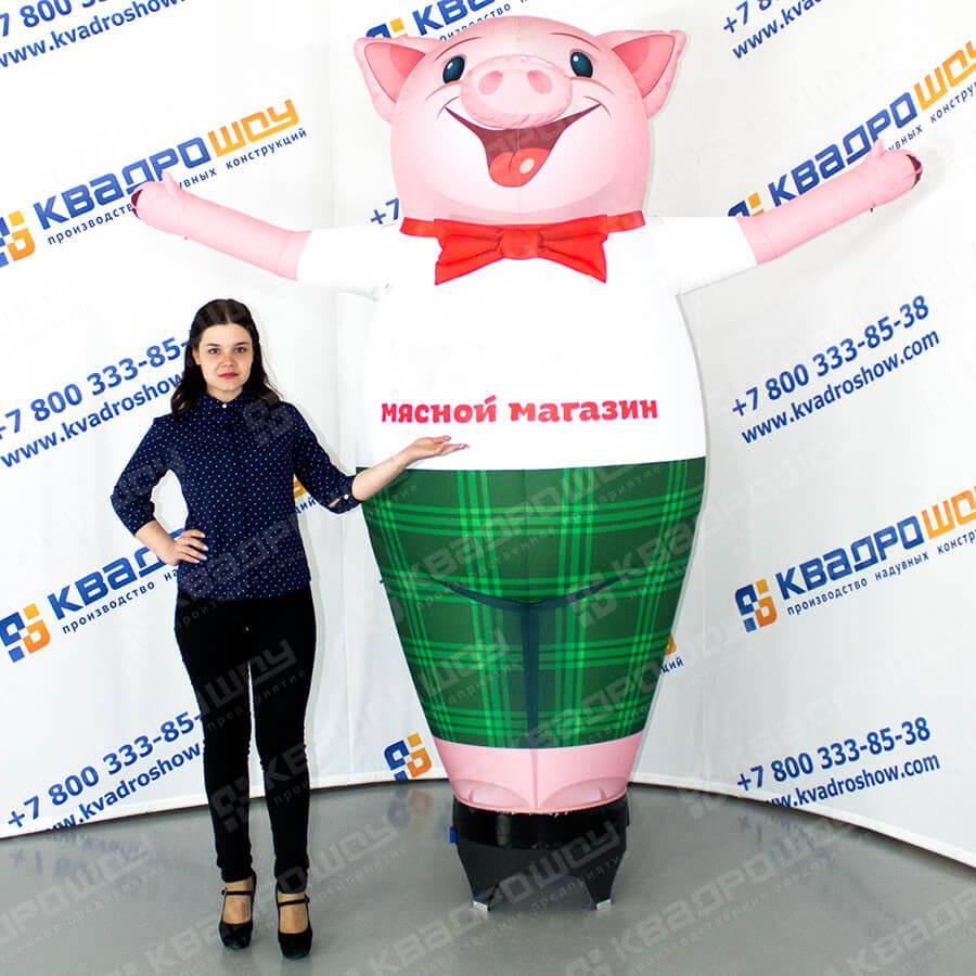 Реклама мясного магазина