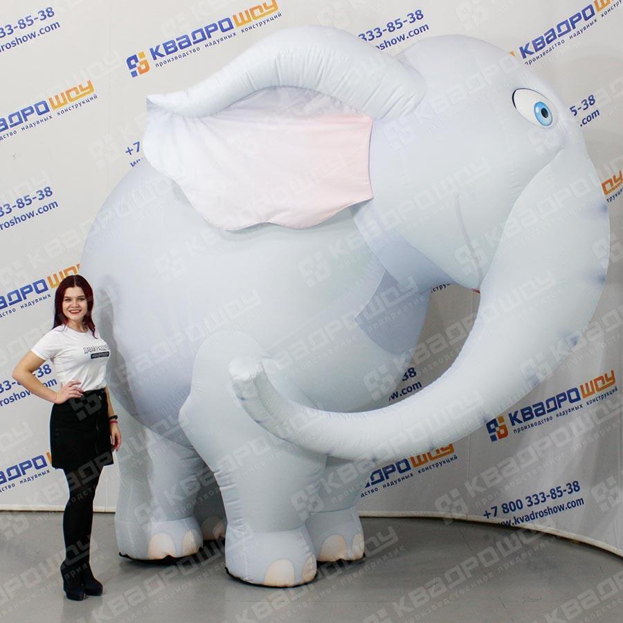 Надувной костюм Слон 2