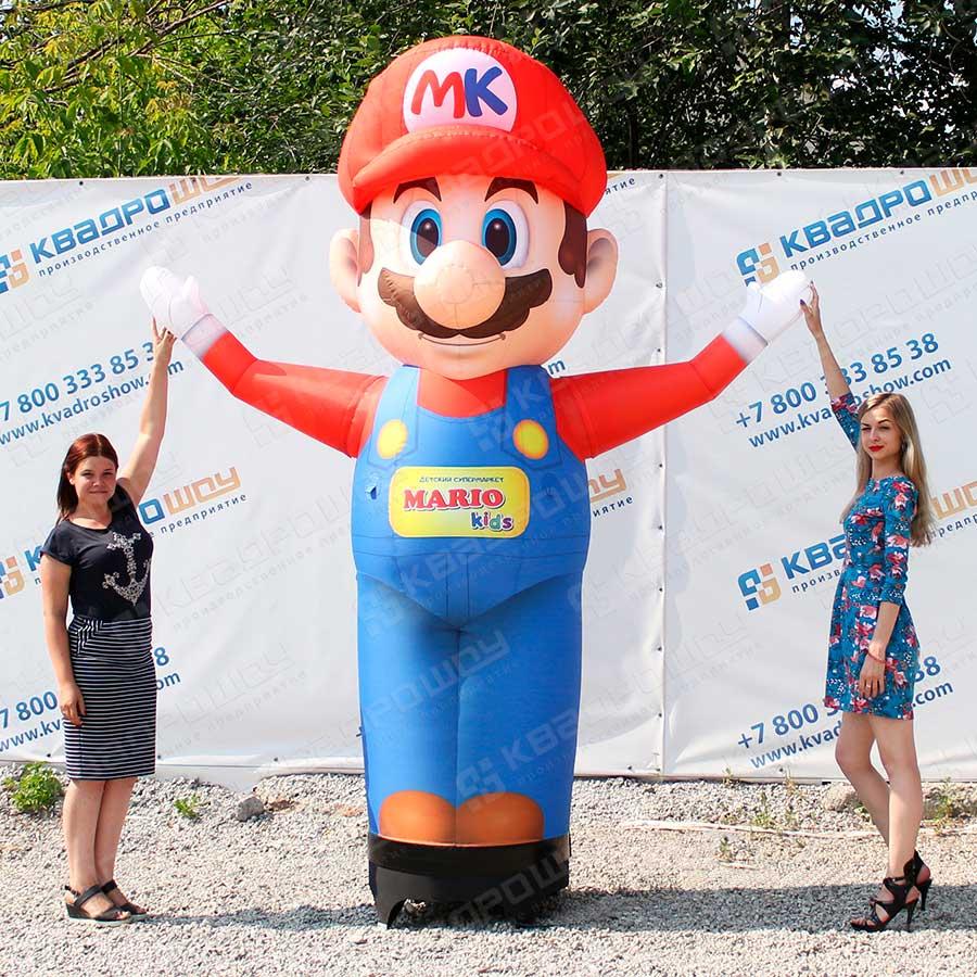 Надувной человечек Марио