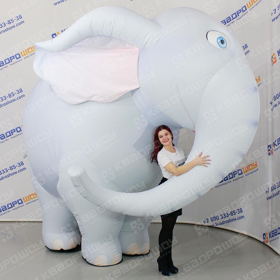 Надувной костюм Слон 1