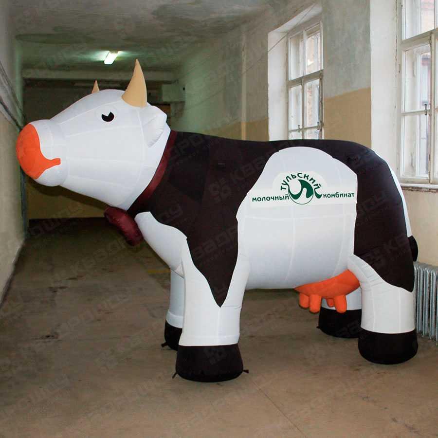 Надувная корова