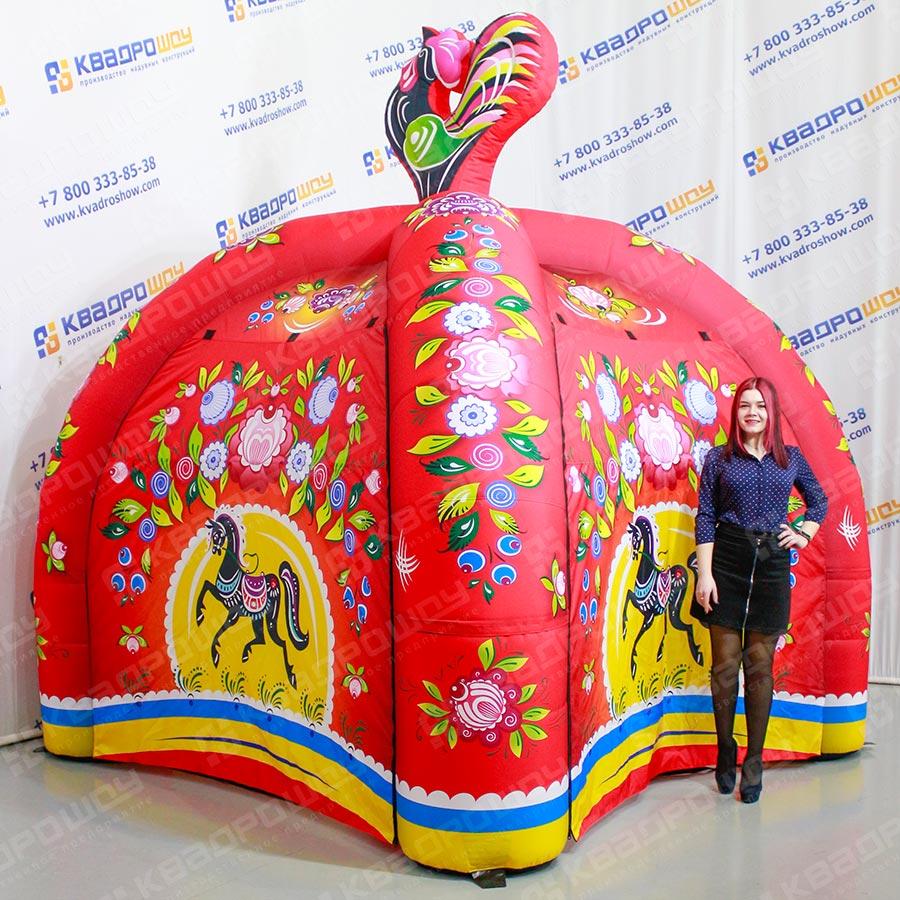 Шатер-палатка Городецкая роспись