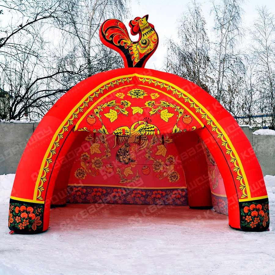 Палатка Хохлома