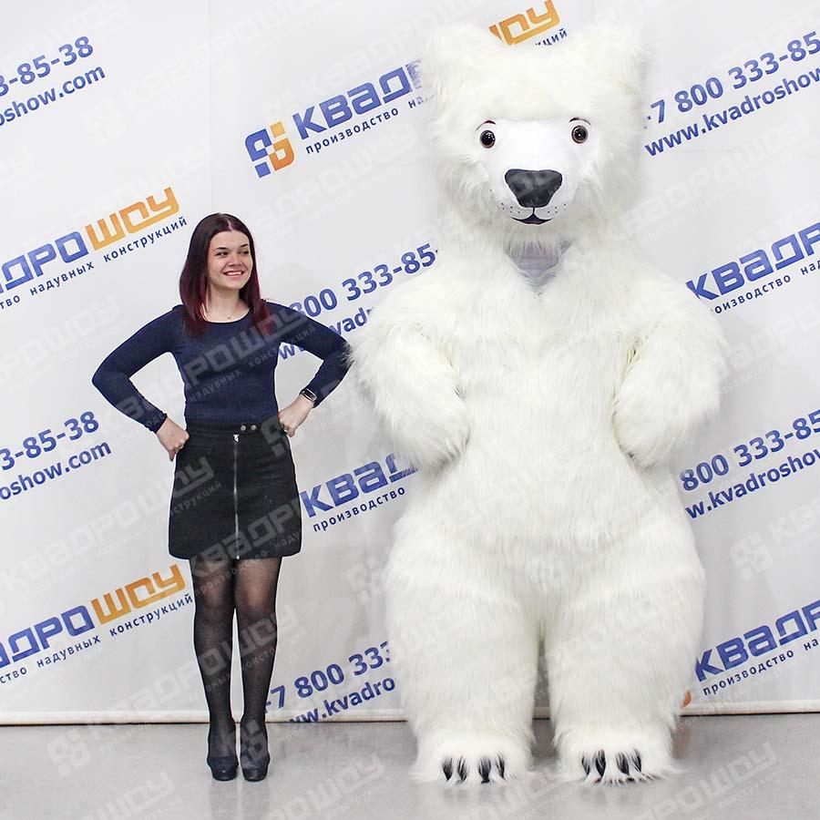 Надувной костюм Тедди девочка
