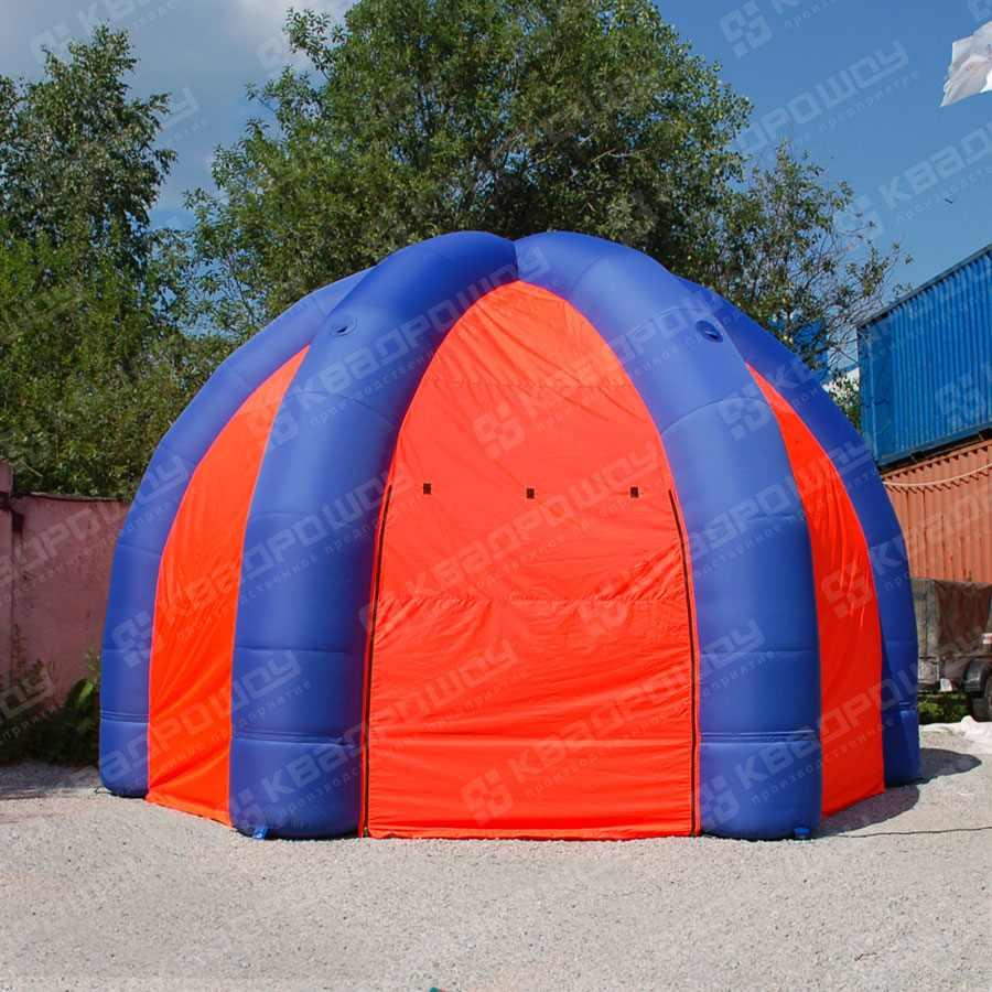 Шестиопорная надувная палатка