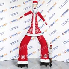 Надувной новогодний Аэромен Дед Мороз