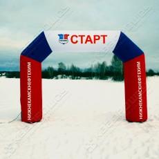 стартовые надувные ворота