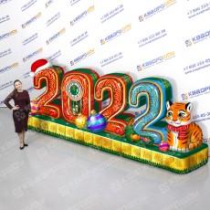 Новогодняя надувная инсталляция 2022