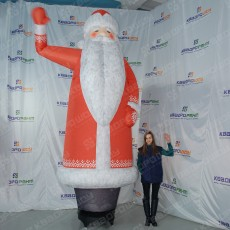 Надувной дед мороз фигура для праздника