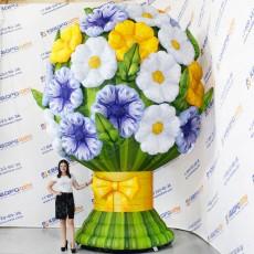 Надувная фигура Букет цветов