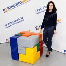 гигантский кубик рубика аттракцион для игр