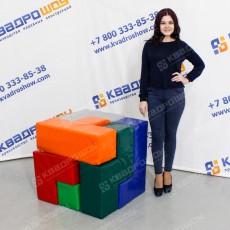 головоломка для тимбилдинга кубик рубика