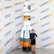 Надувная фигура Ракета