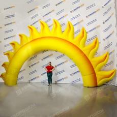 Надувная Арка Солнце