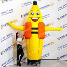 Надувная фигура Банан в спасательном жилете