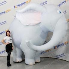 Надувной костюм Слон