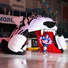 Надувные хоккейные тоннели Тигр