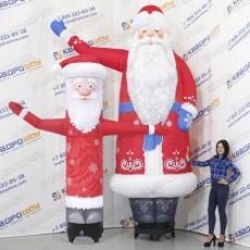 Новогодние надувные фигуры Дед Мороз 2 вида
