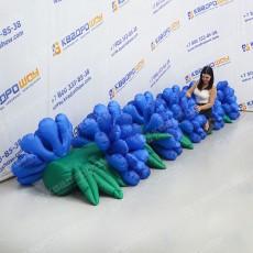 Гирлянда Цветочная с раскрытием надувная