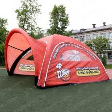 Брендированная палатка для промо акции