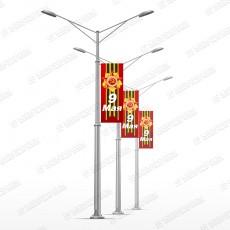 Консоли на столбы к Дню Победы