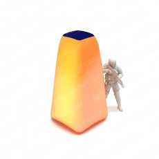 Надувная пирамида для пейнтбола