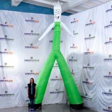 Воздушный человечек для рекламы и праздника