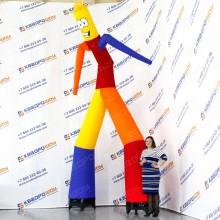 Фигура Аэромена цветная танцующая