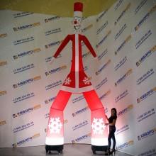 Фигура надувная Аэромен новогодний