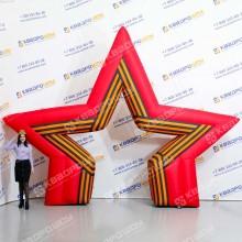 арка звезда к празднику 9 мая
