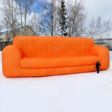 Огромный надувной диван