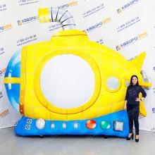 большая надувная фигура подводная лодка с перископом