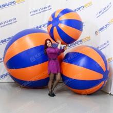 Большие надувные мячи Долька