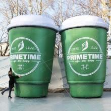 большие рекламные бумажные стаканы для кофе на вынос