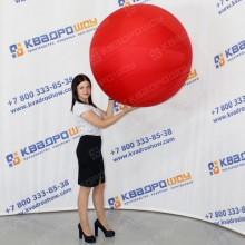 большой надувной игровой красный мяч