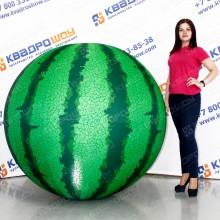 большой надувной мяч арбуз